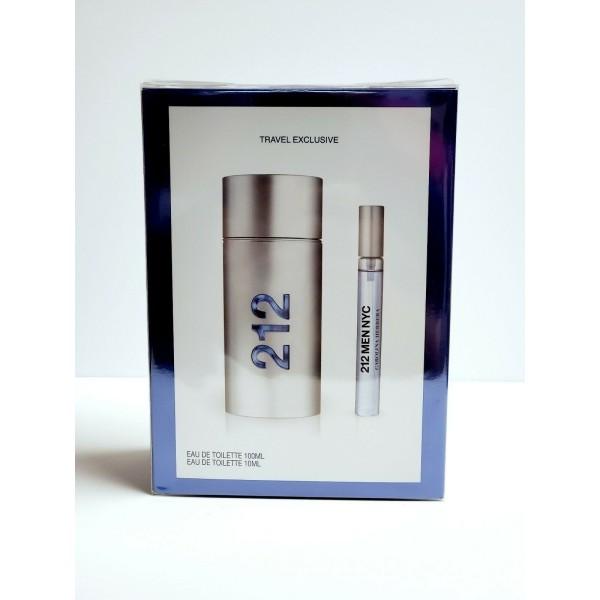 Perfume 212 Men NYC EDT 100ml + EDT - 10ml