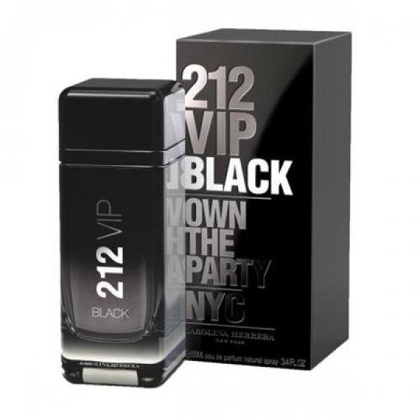 Perfume 212 VIP Black For Men By Carolina Herrera - 100ml