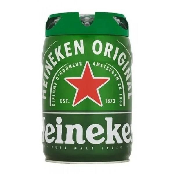 Barril Cerveja Heineken 5 Litros