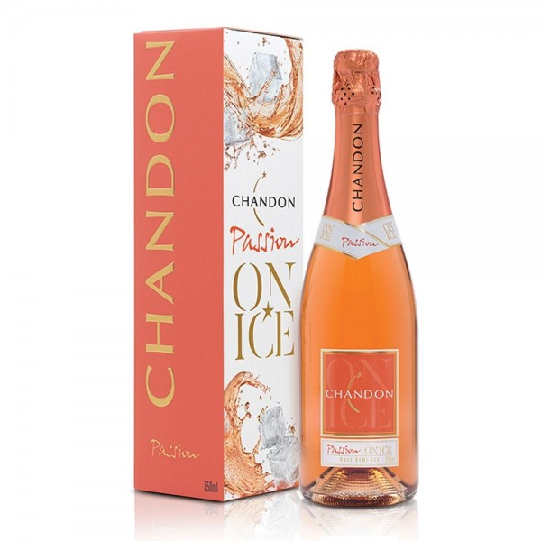 Espumante Chandon Passion Rosé Demi-Sec - 750ml