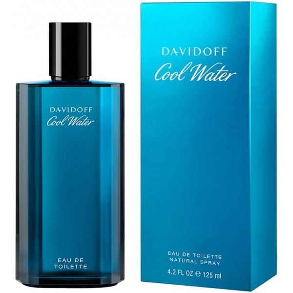 Perfume Cool Water By davidoff For Men - 125ml