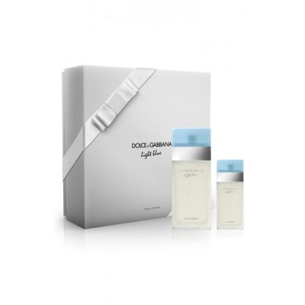 Kit de Perfumes Dolce & Gabbana Beauty Light Blue Eau De Toilette 100ml + 25ml