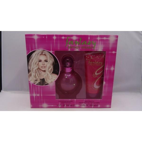 Kit Perfume e Loção Britney Spears