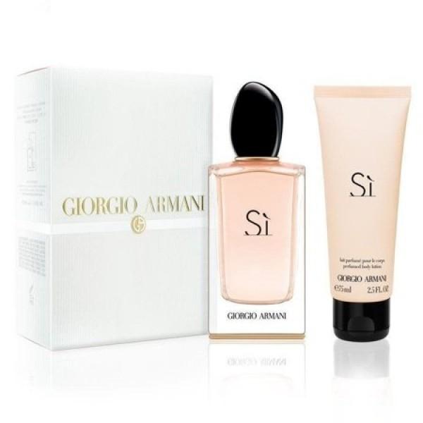 Kit Giorgio Armani  Perfume Si 100ml EDP + Loção Corporal - 75ml