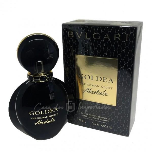 Perfume BVLGARI Goldea The Roman Night Absolute - 75ml
