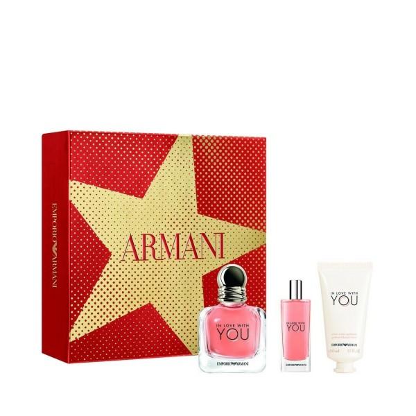 Kit Perfume e Creme Armani In Love With You