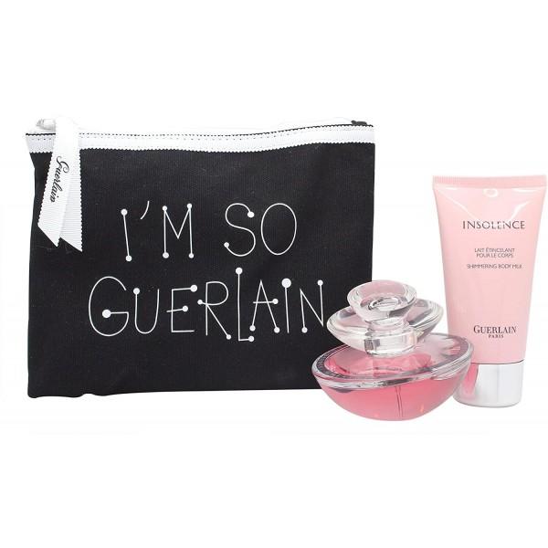 Kit Perfume e Loção Guerlain Insolence + Bolsa