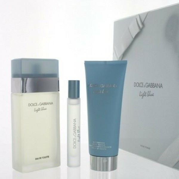 Kit Perfume Dolce & Gabbana Light Blue