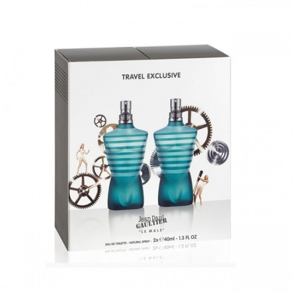 Perfume Jean Paul Gaultier Le Male - 2x40ml