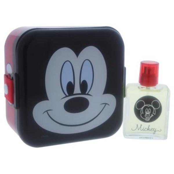 Perfume Air-Val Mickey EDT - 50mL + Caixa de lanche - Infantil